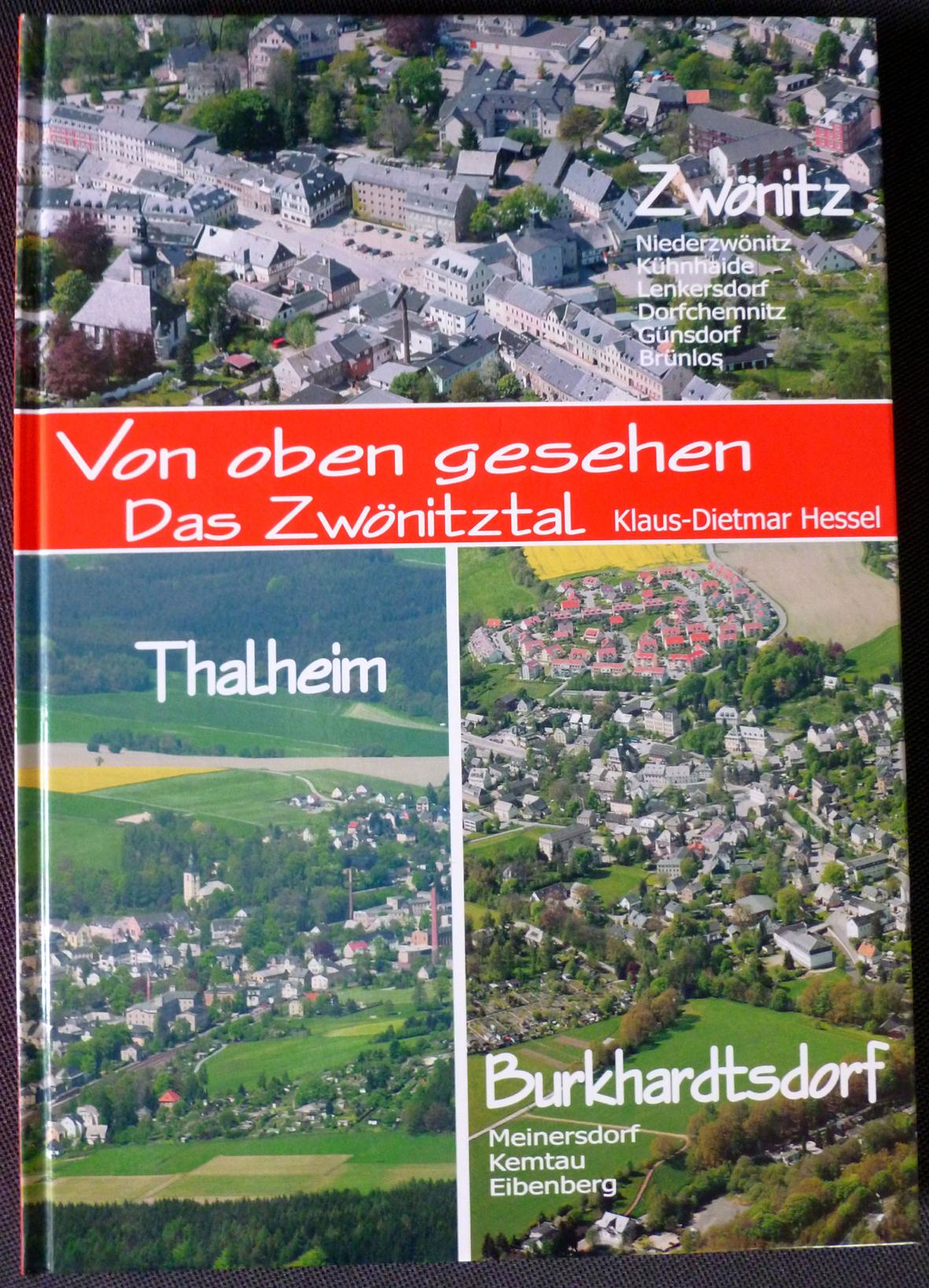 """Buch: """"Das Zwönitztal von oben gesehen"""""""