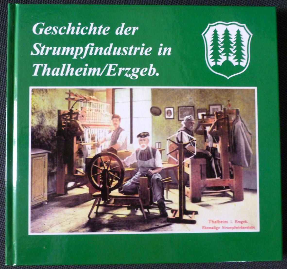 """Buch: """"Geschichte der Strumpfindustrie"""""""