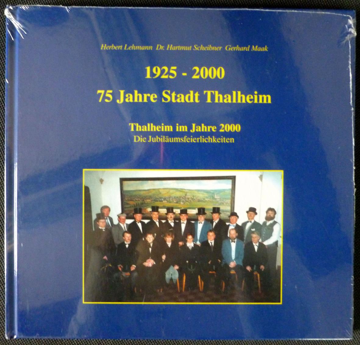 """Buch: """"75 Jahre Stadt Thalheim"""""""