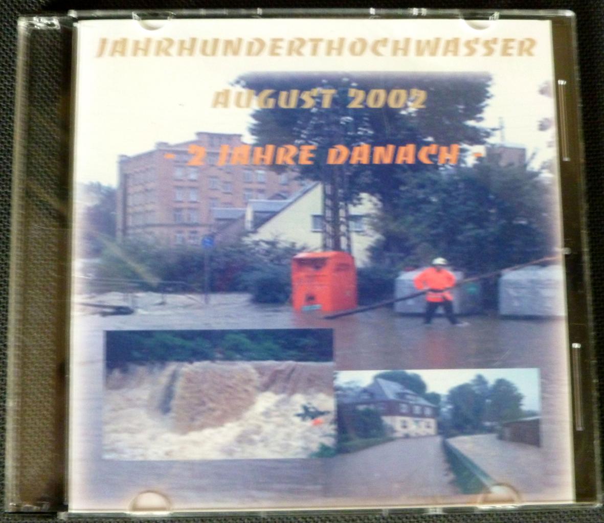 """DVD: """"Jahrhunderthochwasser August 2002"""""""