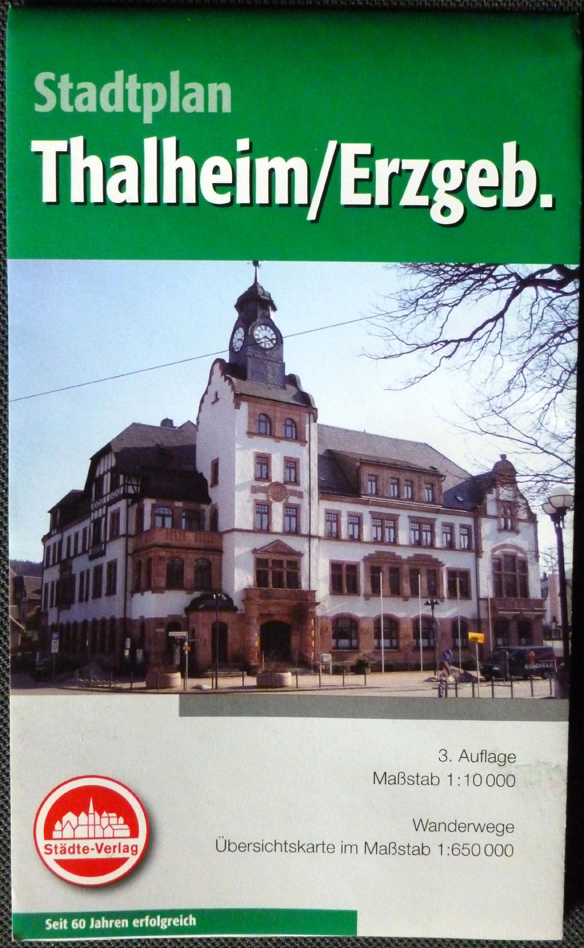 Thalheimer Stadtplan