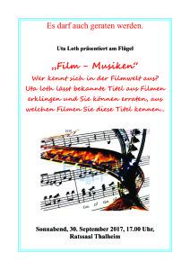 NEU Thalheimer Verkaufsnacht, Plakat für Lesung im Rathaus2 Kopie