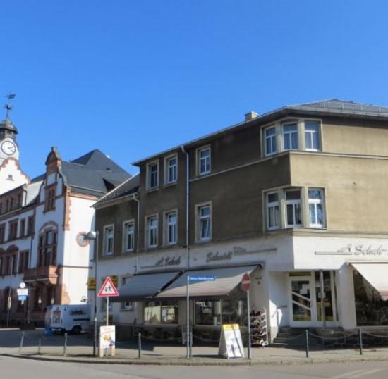 Schuhhaus Schmidt mit Postfiliale
