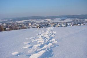 Thalheim/Erzgeb. im Winter