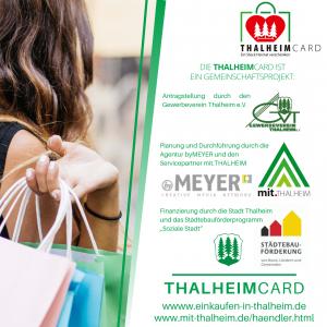 Information zur Thalheimcard über Unterstützer