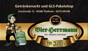 Bier-Herrmann – Getränkemarkt und GLS-Paketshop